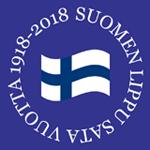 Suomen lippu sata vuotta 1918-2018